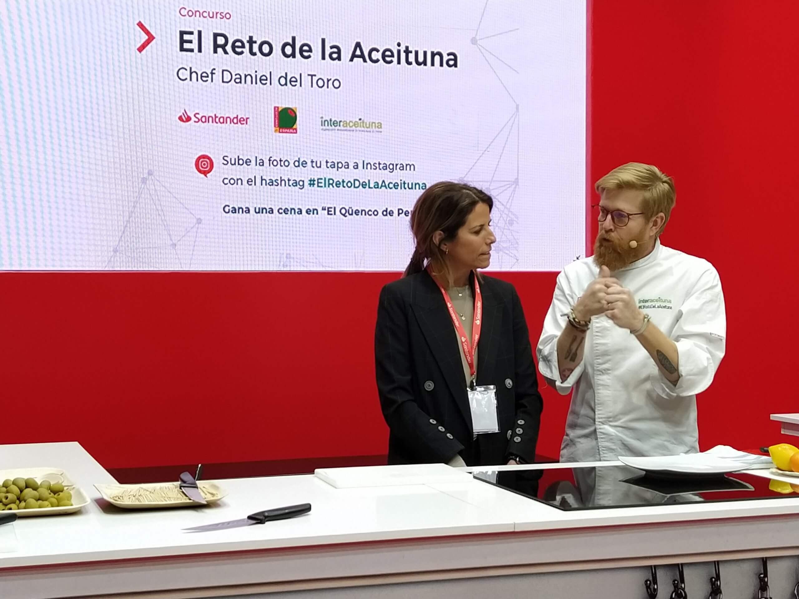 Aceitunas de España en el escaparte de innovación HIP 2020