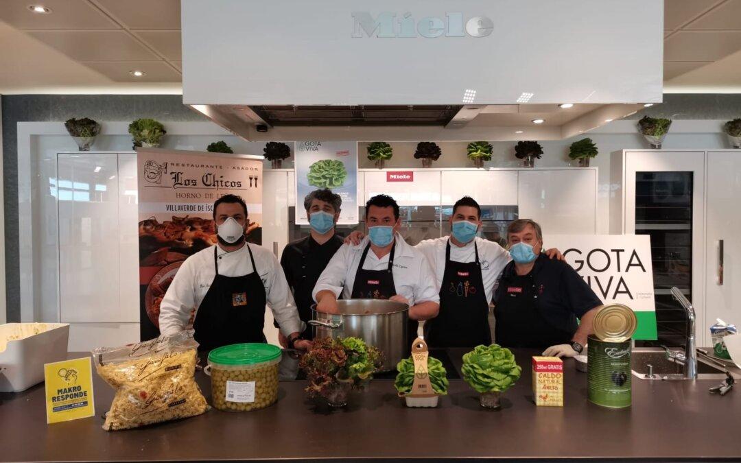 Cocineros INTERACEITUNA con la Fundación Madrina